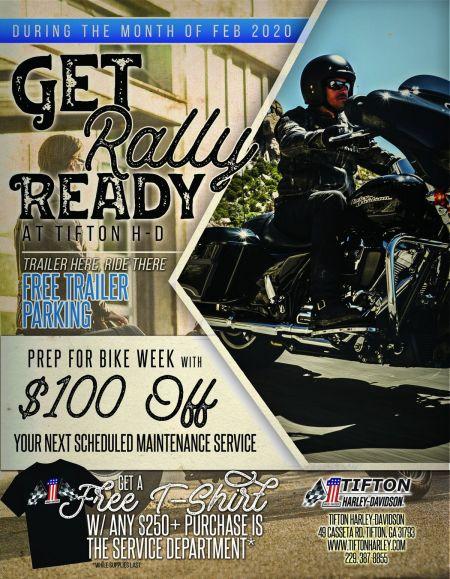 BE RALLY READY!