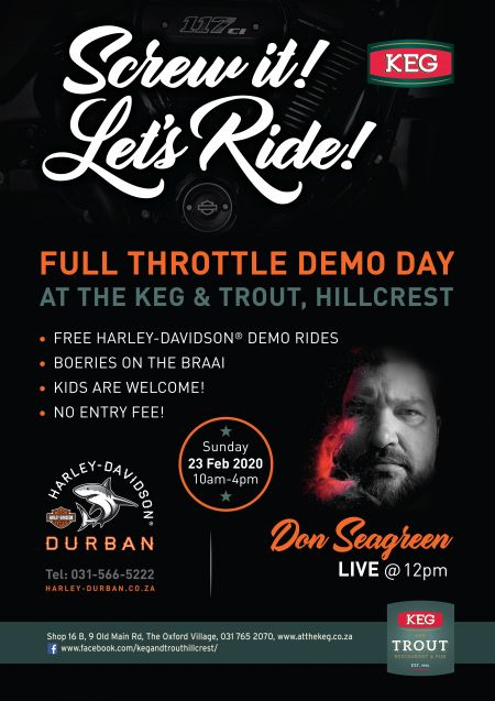 Demo Day at the Keg & Trout, Hillcrest!