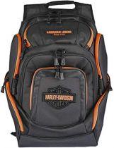 Harley-Davidson Orange Bar & Shield Deluxe Backpack
