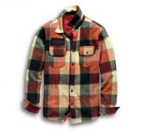 メンズ・ロゴライニング・シャツジャケット