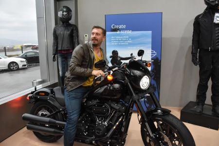 Новият звяр на Harley-Davidson Low Rider S впечатли български актьори и почитатели на легендата