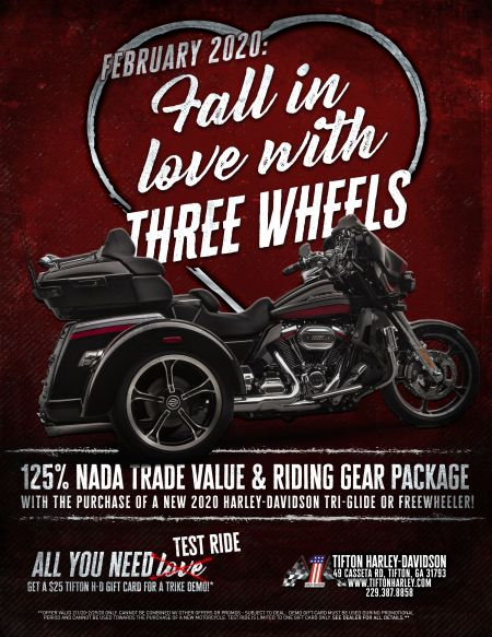 Fall in Love with Three Wheels