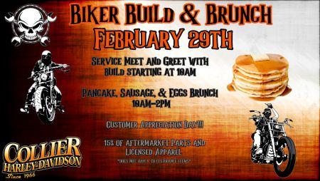 Biker Build & Brunch