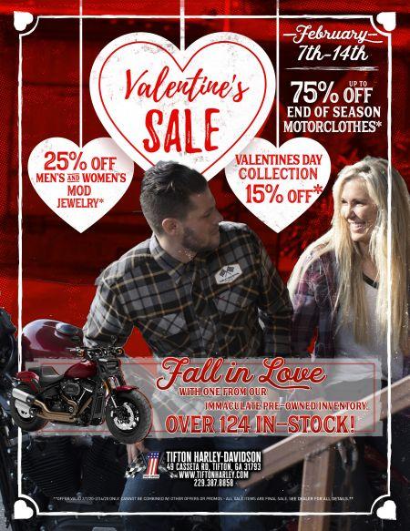 Valentine's Sales