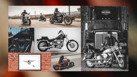 2/7-9 Celebrating the life of the softail®『THE RISE OF A LEGEND 』開催