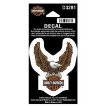 Decal Upwing Eagle Brown XS