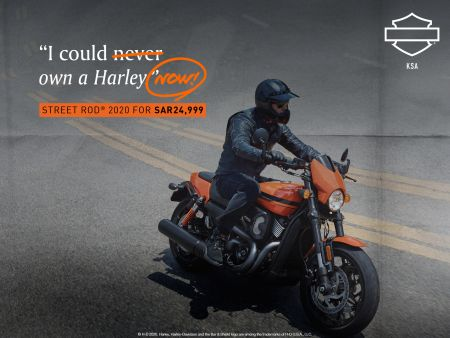 I COULD OWN A HARLEY NOW