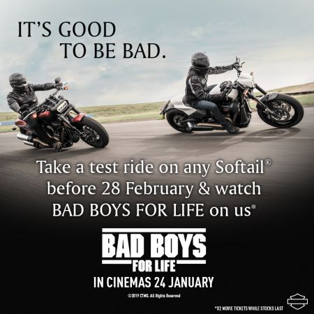 BAD BOYS FOR LIFE DEMO RIDE DAY