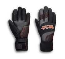 Harley-Davidson® Women's Vanocker Under Cuff Gauntlet Gloves