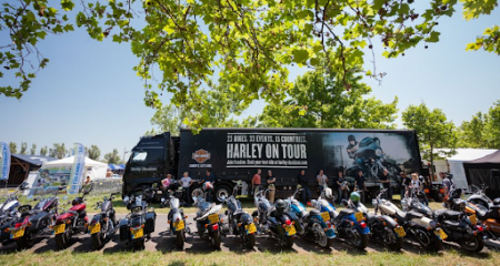 HARLEY ON TOUR BALATON 2020