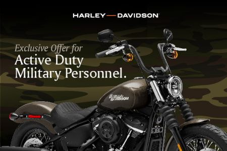 Exclusive Offer For Active Duty Military Personnel