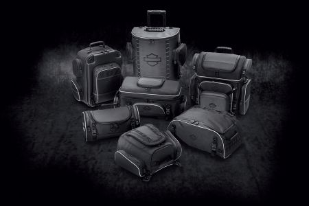NEW Harley-Davidson Onyx Premium Luggage Collection