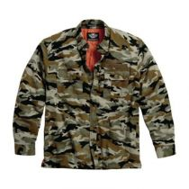 SHIRT JACKET-QUILTED