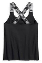 TANK-PERFORM,STRAPPY,SLEEVE LESS,KNIT,BLACK