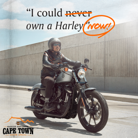 Thought you could never own a Harley®