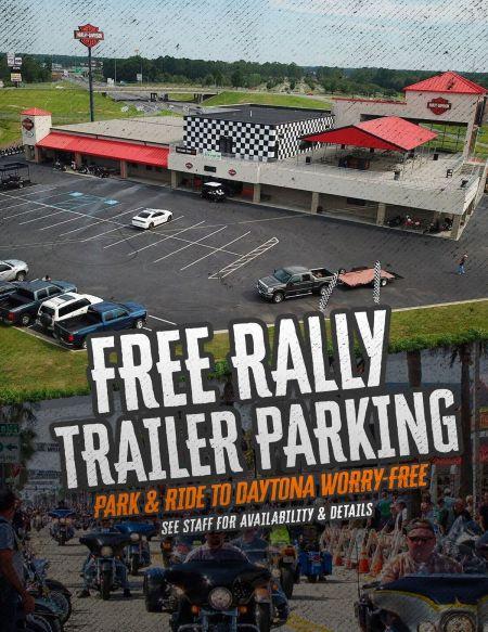 Free Trailer Parking