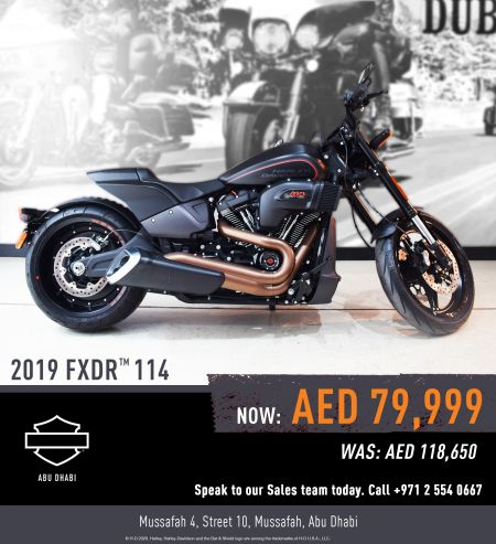 2019 FXDR 114 - AED 79,999