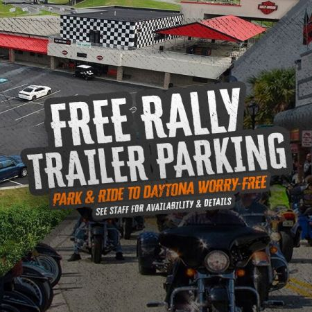 Daytona Trailer Drop-Off