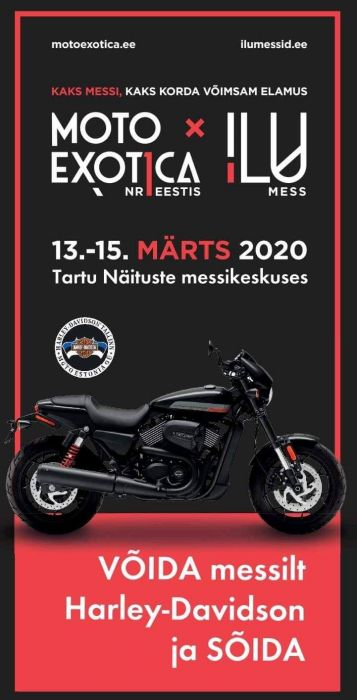 13-15.03 MOTOEXOTICA 2020 Tartus