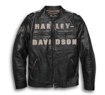 Harley-Davidson® Men's Vintage Race-Inspired Leather Jacket