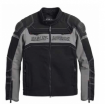 Harley-Davidson® Men's FXRG Slim Fit Riding Jacket With Coolcore