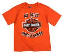 BOYS MY DADDY RIDES A HARLEY