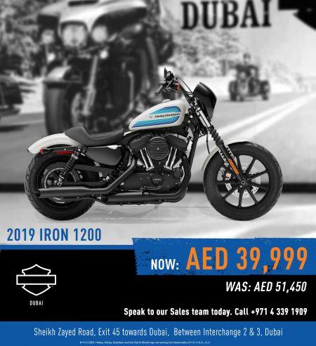 2019 IRON 1200 - AED 39,999