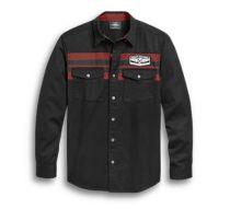 Harley-Davidson Men's  Black Woven Shirt