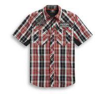 Harley-Davidson Men's  Plaid Performance Shirt