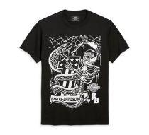 Harley-Davidson® Men's Men's HD x Rusty Butcher Snake Short Sleeve Tee