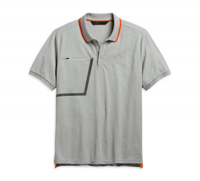 ZIPPER POCKET POLO