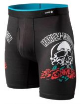 STANCE apakšbikses Harley Skull Rose BB Black