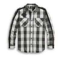 Krekls WOVEN PLAID Sleeve Stripe