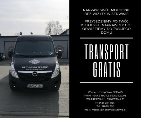 SERWIS DOOR-TO-DOOR TRANSPORT GRATIS