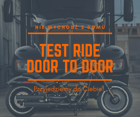 TEST RIDE DOOR-TO-DOOR