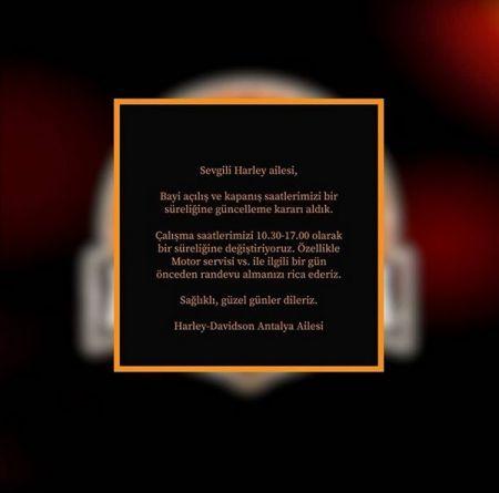 Bilgilendirme/Announcement