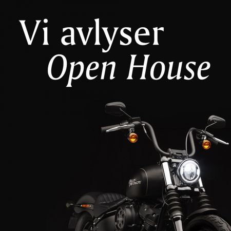 Vi avlyser Open House 25. april