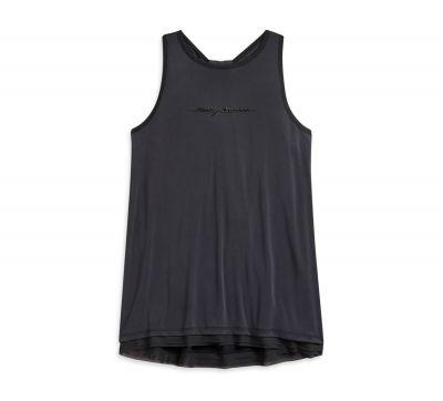 Tricou KNIT BLACK