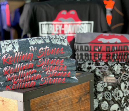 Limited edition Harley-Davidson® x Rolling Stones® Tees and Hoodies - Exclusive Offer