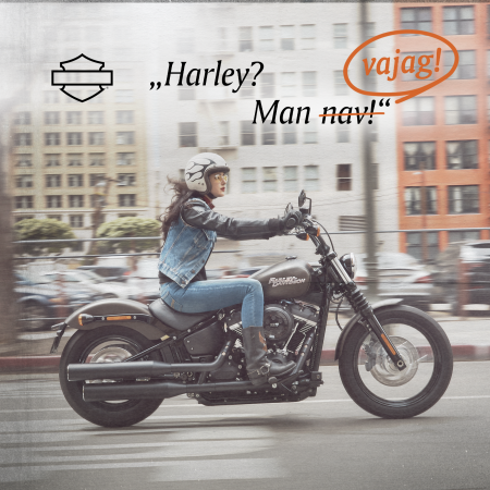 Īstais laiks jaunam Harley!
