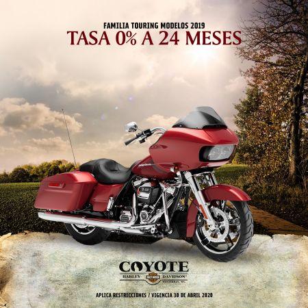 TASA 0% A 24 MESES FAMILIA TOURING MY19