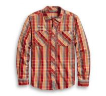 Men's Checkered Plaid Slim Fit Shirt