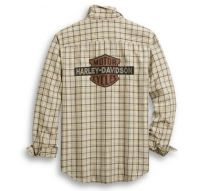Men's Vintage Logo Plaid Shirt