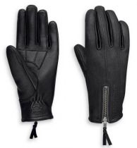 Harley-Davidson® Women's Writ Perforated Leather Full-Finger Gloves
