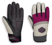 Harley-Davidson® Women's Killian Mixed Media Full-Finger Gloves