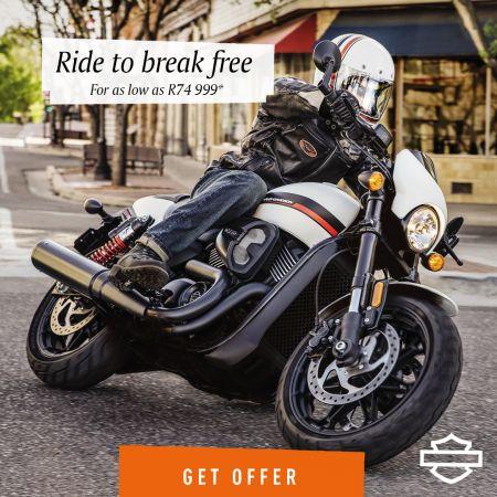 Ride to break free!