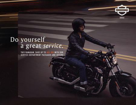 Ramadan Service Promotion - Harley-Davidson® Dubai
