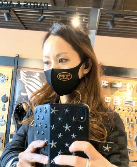 VANSONマスク入荷いたしました!!!