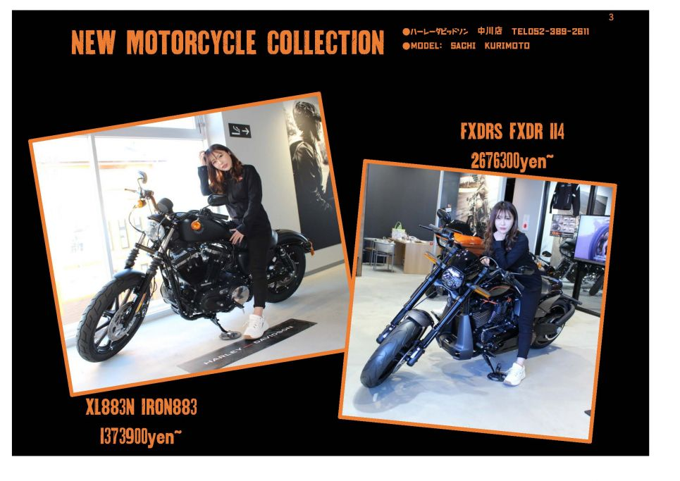 【MOTORCYCLE Collection ③】