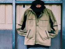 Men's Washed Canvas Jacket